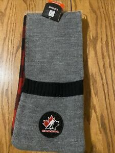 Gertex Team Canada Hockey Pocket Scarf New One Size