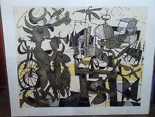 Claude VENARD (1913-1999) Lithographie composition signée et numérotée P1693 XL