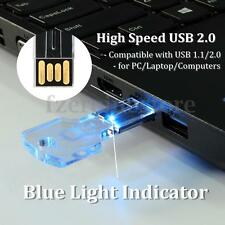 32GB USB 2.0 Stick 32G Flash Pen Drive Memoria Luz Indicator Transparente Llave
