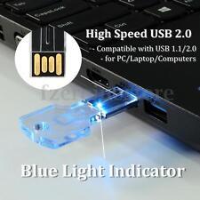 32GB USB 2.0 Stick 32G Flash Pen Drive Memoria Luz Indicator Transparente Llave