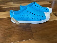 Native Mens Jefferson Blue Water Shoes Mens Size 12 MSRP $54