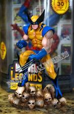 Marvel Milestones Wolverine on Skulls Statue Meduim Size from X-Men