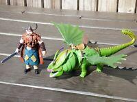 How To Train Your Dragon Skullcrusher Rumblehorn Stoik The Vast Set Figure Toy