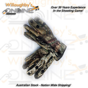 Camouflage Camo Hunting Gloves Trigger Finger Shooting Archery Gear