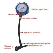 Motorcycle Car Fuel Pressure Gauge Car Gasoline Pressure Gauge Meter Tester f