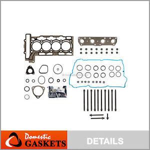 Head Gasket 1.20mm Thick Bolts Set Fits 2007-2010 Mini Cooper 1.6L DOHC L4 16V