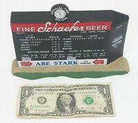 Dept. 56 Brooklyn Dodgers Ebbets Field Scoreboard Sign Plaque Schaefer Abe Stark