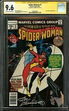 Spider-Woman #1 CGC 9.6 SIGNED JOE SINNOTT New Origin SPIDER-WOMAN Spider-Verse