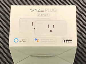 (LOT of 23) Wyze Plug Smart Home WiFi   2-pack  (FACTORY SEALED!)