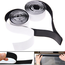 Top 2 in 1 Self Adhesive Tape Hook and Loop Fastener Extra Sticky Back 1mx20mm
