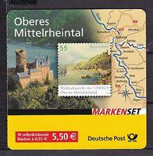 BRD 2006 postfrisch Markenheft  MiNr. 63a  mit Braunbach statt Braubach