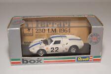 V 1:43 MODEL BOX 8437 FERRARI 250 LM 250LM MONZA 66 WHITE MINT BOXED