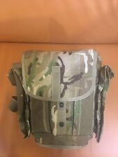 British Army Gas Mask Respirator Bag MTP DPM Molle Super Grade Bushcraft Osprey