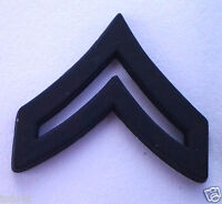 US ARMY RANK E4 CORPORAL (SUBDUED) Military Veteran Hat Pin P12751 EE