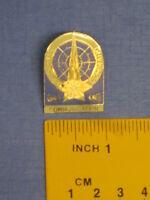Star Trek Starfleet Command Communications Branch Insigna Pin Badge STPIN70