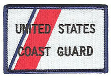 HOOK/LOOP Coast Guard stripe color W5225V USCG patch flight suit