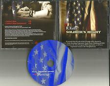 R. KELLY Soldier's Heart w/  RARE INSTRUMENTAL PROMO RADIO DJ CD Single 2002 R