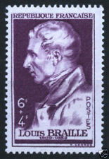 STAMP / TIMBRE FRANCE NEUF N° 793 ** LOUIS BRAILLE
