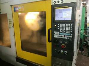 Robodrill T14iBL CNC Machining Center 4th Axis Ready 14 Tools, Long Bed