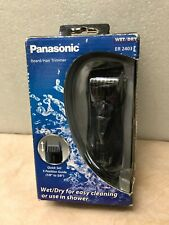 Panasonic er 2403k Cordless Beard Trimmer  Wet Dry Operation Mustache and Body