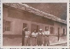 FOTO ALPINISTI AL RIFUGIO VITTORIO SELLA 1939 ALPE LAUSON Valle d'Aosta 7-83