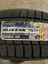 2 New 225 55 16 Bridgestone Blizzak Ws60 Snow Tires
