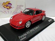 Minichamps CA04316001 # Porsche 911 (993) Turbo S Baujahr 2013 indischrot 1:43