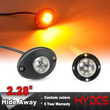 "2.28"" Amber 6 LED Hide Away Emergency Patrol Truck Vehicle Warning Strobe Lights"