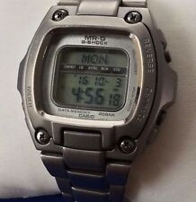 Very Rare Authentic G Shock MR-G MRG-210T Digital Watch for Men Titanium