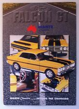 BIANTE BROCHURE YELLOW OCHRE  XY FALCON  GT  FREE POST RARE
