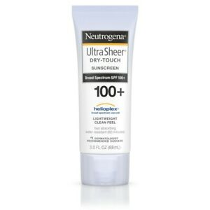 Neutrogena Ultra Sheer SPF 100+ Dry Touch Sunscreen (3 fl. oz/ 88ml)