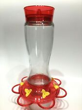 Hummingbird Glass Bottle Feeder, 20-oz. Capacity 7 Integrated Perches