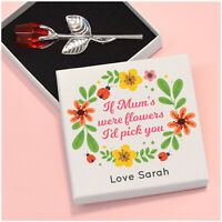 If Mums Were Flowers I'd Pick You PERSONALISED Birthday Gifts for Mummy Nanny