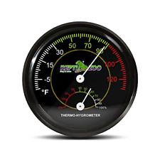 New listing Repti Zoo Reptile Terrarium Thermometer Hygrometer Dual Gauges Pet Rearing Box