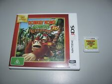"""Donkey Kong Country Returns 3D For Nintendo 3DS Tested And In """"VGWO"""""""