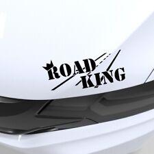 Road King Aufkleber Car Sticker Tuning Decal Scwharz 20x10 cm OBV