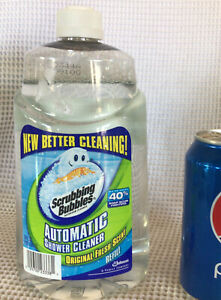 Scrubbing Bubbles Automatic Shower Cleaner Refill Original Fresh Clean Scent  34