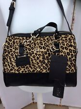 Stunning Liu Jo Leopard Print Calf Hair Leather Handbag - BNWT