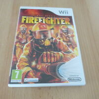 Firefighter Nintendo Wii Game  Real Heroes, pal