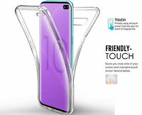 Case For Samsung Galaxy S7 S8 S9 S10 Shockproof Cover Clear Silicone 360 Degree