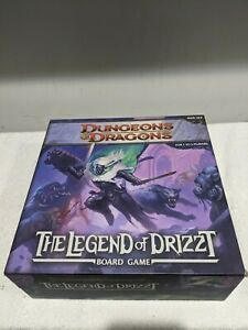 Dungeons & Dragons: The Legend of Drizzt Fantasy Board Game (2011) - Complete