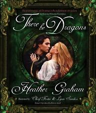 There Be Dragons [With CD (Audio)] by Heather Graham Hardcover Book (English)