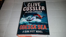 Odessa Sea by Clive Cussler & Dirk Cussler (2016, Hardcover) SIGNED x 2 1st/1st