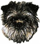 Large Embroidered Zippered Tote - Affenpinscher AED16161