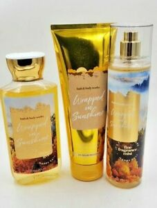 Bath & Body Works Wrapped in Sunshine Collection