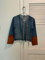 Port Louis Jean And Leather Jacket Small