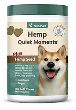 New listing NaturVet – Hemp Quiet Moments Calming Aid for Dogs - Plus Hemp Seed – Helps