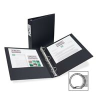 """Avery Economy Reference Ring Binders With Label Holder - Letter - 8.50"""" X 11"""" -"""