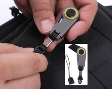 Zipper Pull Military Survival Tactical Zipper Pull Folding Knife EDC Tool 3642