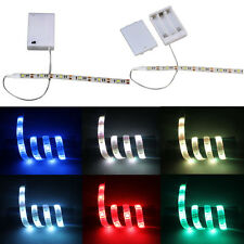 Led Strip Light With Battery Box Waterproof 50-500CM for Bike Bicycle 6 Colors